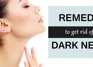 Get rid of dark neck in 20 minutes