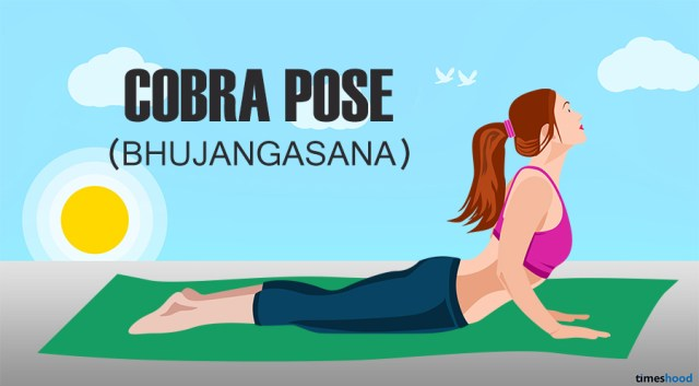 Cobra Pose for belly fat. Yoga for belly fat fast