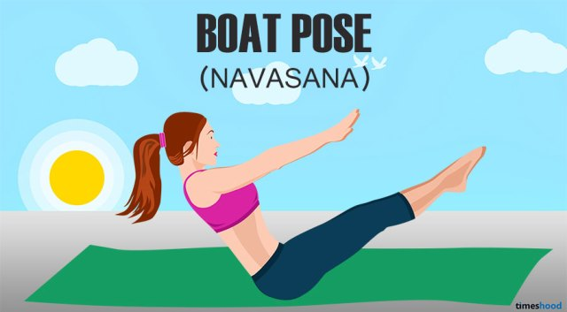 Boat Pose for Belly Fat Loss. Yoga poses for belly fat loss fast.