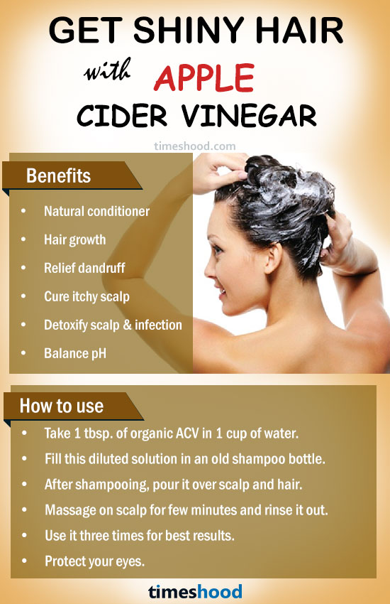 how to clean your hair with vinegar