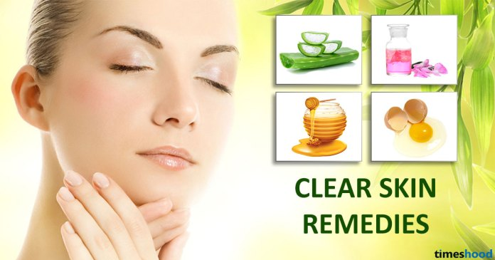 Home Remedies to Get Clear Skin For All Skin Types