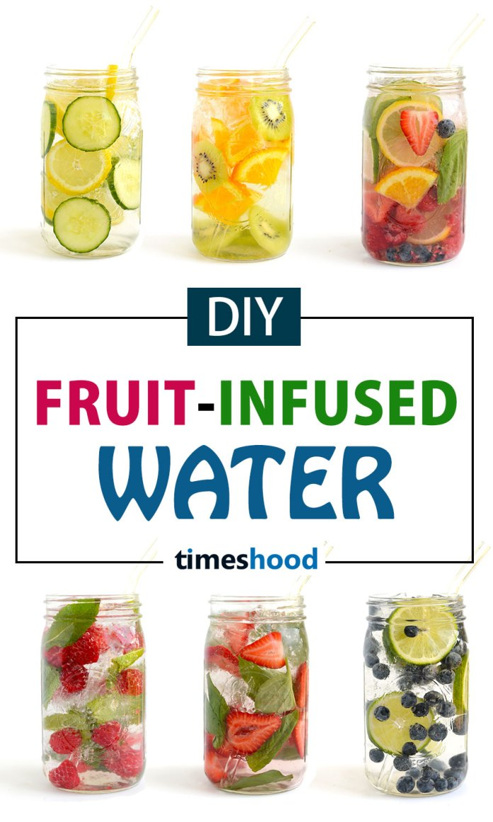 Try 6 DIY fruits infused water recipes for weight loss and clear skin. Healthy homemade detox water recipes to improve digestion. So, give a try to one of these 6 DIY infused water for detoxification and beautiful skin.