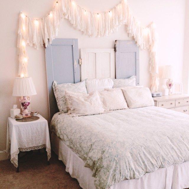 Make your bedroom honeymoon ready. Christmas lightening bedroom decoration ideas. super sexy decoration on Christmas.