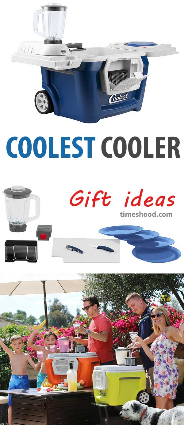 Coolest cooler for beach and outdoor fun. Best gift items for this Christmas. Gift items for home. Cool gift ideas.