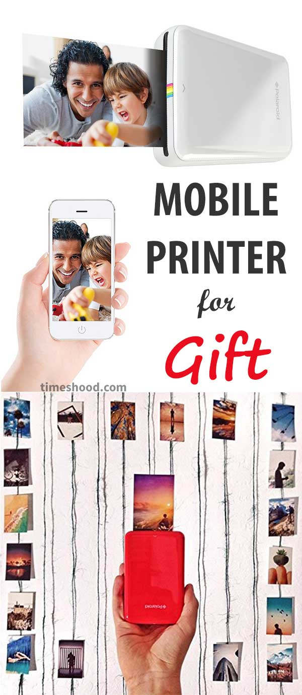 Mobile Printer Gift Idea. frame your complete family photos as gift to your loved one on this Christmas. Gift for your dad, grandpa, coworker, boss, friends. Thanksgiving Gift ideas.