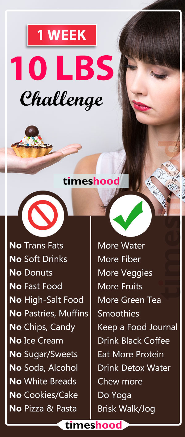 How to lose 10 pounds in 7 days? Take this 7-day flat belly challenge for fast weight loss. Best diet plan to lose weight fast. No gym, no workouts, easy weight loss hacks. Get flat tummy in 7 days. 7 steps to reduce your belly fat fast. Simple weight loss tips for women. Lose 10 pounds in one week challenge. Skinny rules. Food to eat for weight loss.