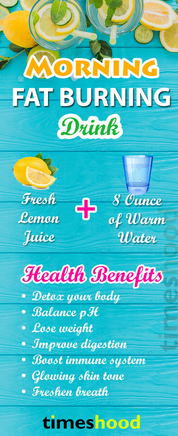 fast belly fat burning drinks