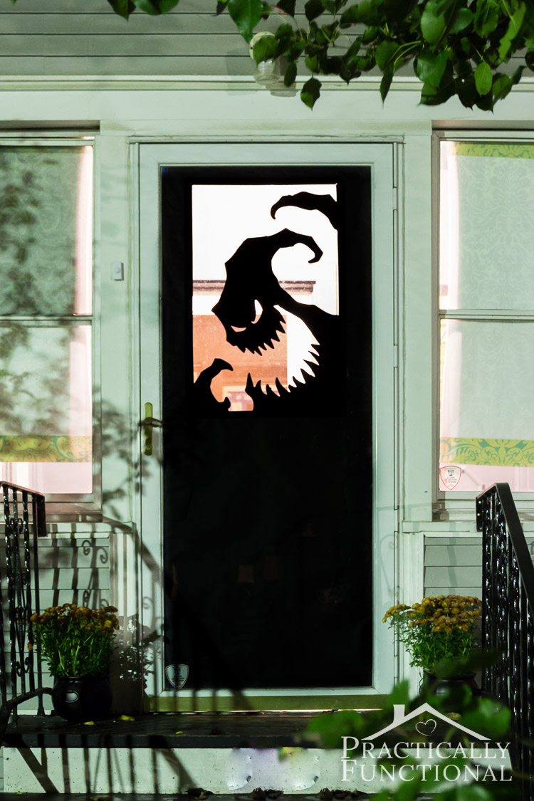 Looking for Halloween door decorating ideas Try