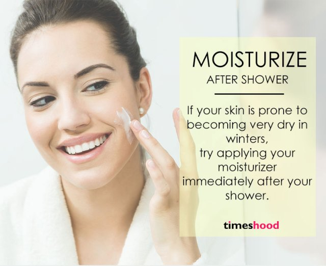 How to moisturize your skin in winter? Best moisturizing tips for dry skin. Winter skincare tips for women. Get soft and smooth skin in winter.