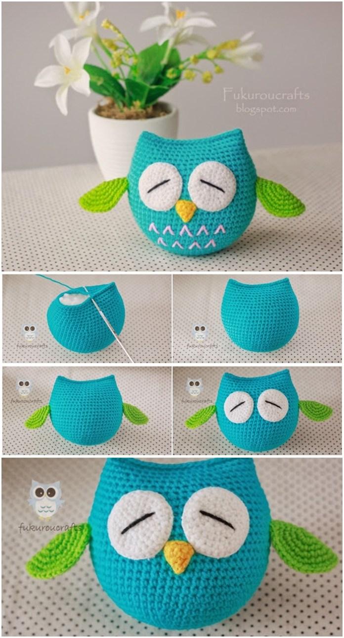 4 Crochet Amigurumi Owl Free Patterns   Owl crochet patterns, Owl ...   1291x696