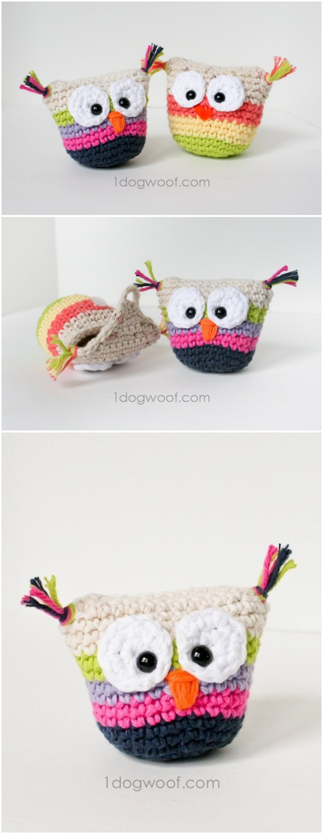 Cute and adorable owl crochet pattern. Free crochet owl pattern ideas for beginners, Find best 15 creative ideas of owl crochet.