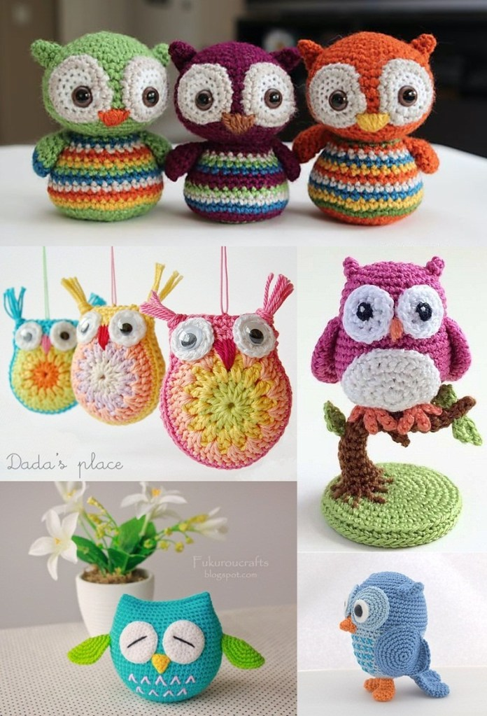 15 Cute Owl Crochet Pattern You'll Love to See