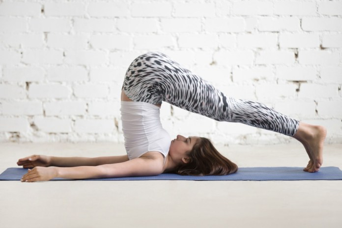 A 30-minute active yoga workouts to start a morning healthy. Best and easy to do yoga poses for beginners. Plow pose to soothe digestive issues.