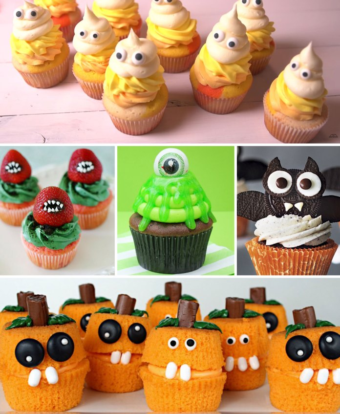 15 Amazing Halloween Cupcake Ideas. Easy, fun, and spooky Halloween cupcakes recipes. Amazing Halloween Cupcake Recipes Ideas.