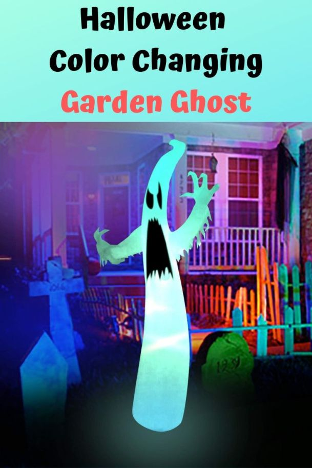 This lightweight design is perfect for your Halloween night decorations. Its color changing lights design is easy for anyone in the family to set up and take down. Find 17 more Halloween amazon decorations.