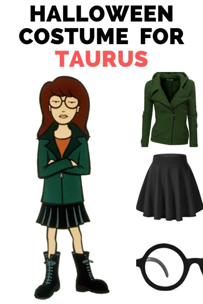 For Taurus zodiac, Daria look is one of the mind-blowing Halloween costumes. It shows your bullish character and stubbornness. The best Halloween costume ideas for your zodiac sign.