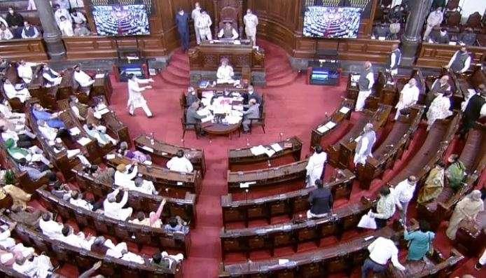 Rajya sabha passes GNCTD costs, LG Delhi govt capabilities, opposition walkout parliament