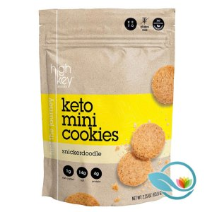 HighKey Snacks Keto Mini Cookies, Snickerdoodle or Chocolate Chip