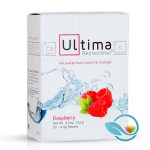 Ultima Replenisher Electrolyte Powder, Raspberry and Lemonade