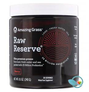 Amazing Grass' Raw Reserve Green Superfood Organic Powder