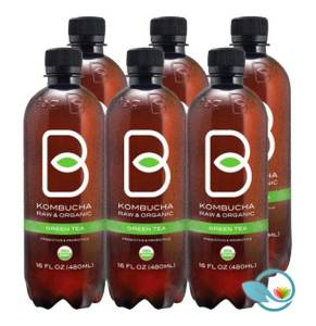 B-tea Kombucha Raw & Organic