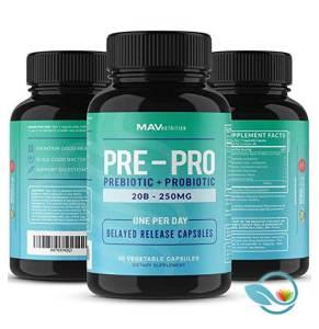 MAV Nutrition Pre-Pro Prebiotic + Probiotic