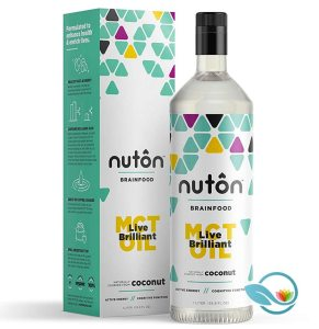Nuton Ketone Oil – Pure C8 MCT Oil