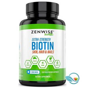 Zenwise Health Extra Strength Biotin