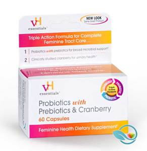 vH Probiotics and Prebiotics with Cranberry