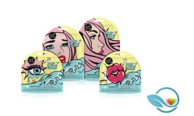 SF Glow Launches Pop N' Glow Skincare Collection with Face, Lip, Eye and Hair Sheet Masks