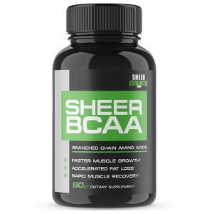 Sheer Strength Labs Sheer BCAA Capsules