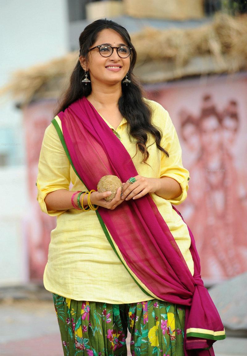 Anushka Shetty in a still from Size Zero