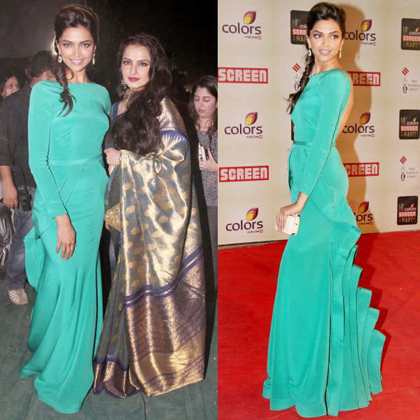 Deepika Padukone rocks a backless gown