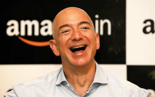 Jeff Bezos, CEO, Amazon.com