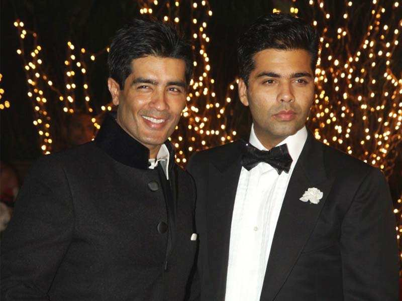 Image result for manish malhotra karan johar