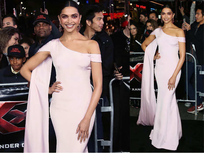 Deepika Padukone stuns at the 'xXx: Return of Xander Cage' Los Angeles premiere