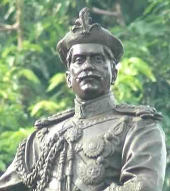Hitler's friend Sir Sayajirao Gaekwad (TOI Photo)