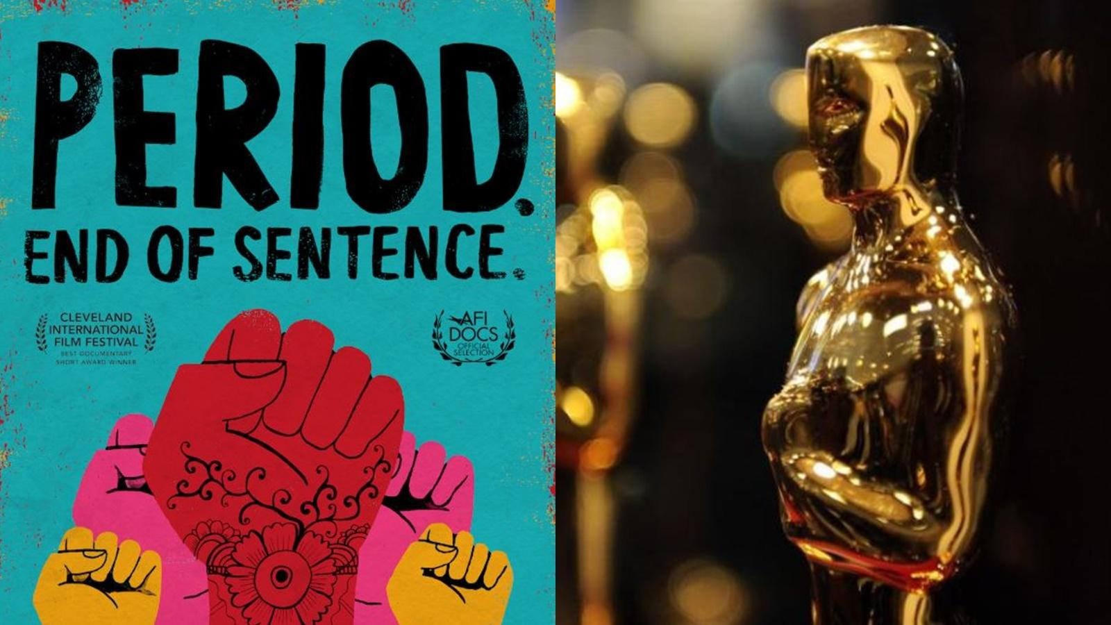 Indian Film On Menstruation Period End Of Sentence Makes It To Oscars Shortlist