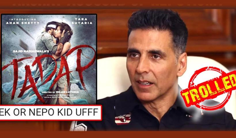 Akshay Kumar introduces Suniel Shetty's son, trolled for encouraging nepotism   Hindi Movie News – Bollywood – Times of India