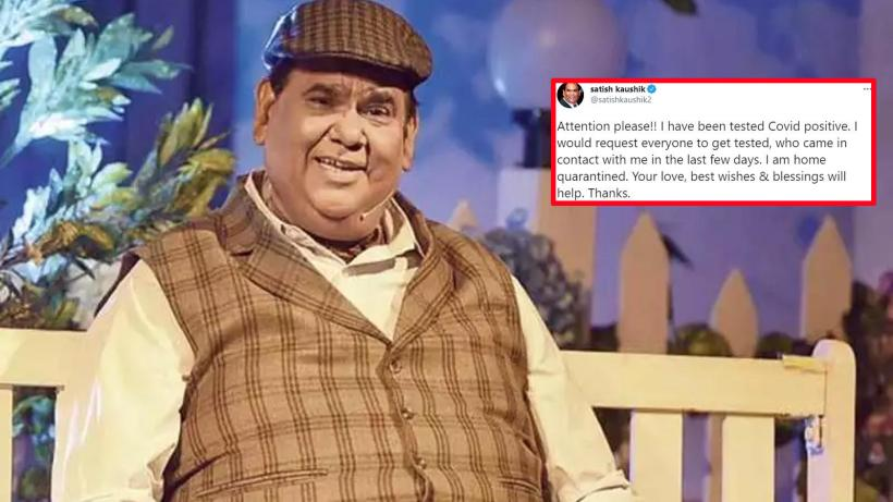 Satish Kaushik tests positive for COVID-19, seeks 'best wishes and blessings' | Hindi Movie News – Bollywood – Times of India