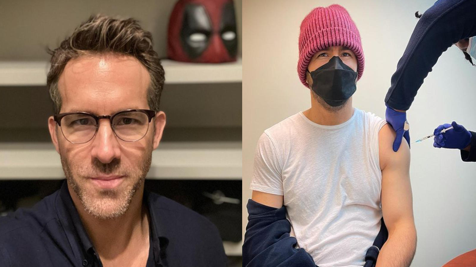Ryan Reynolds takes a jab of COVID-19 vaccine, writes 'Finally got 5G' | English Movie News – Hollywood – Times of India