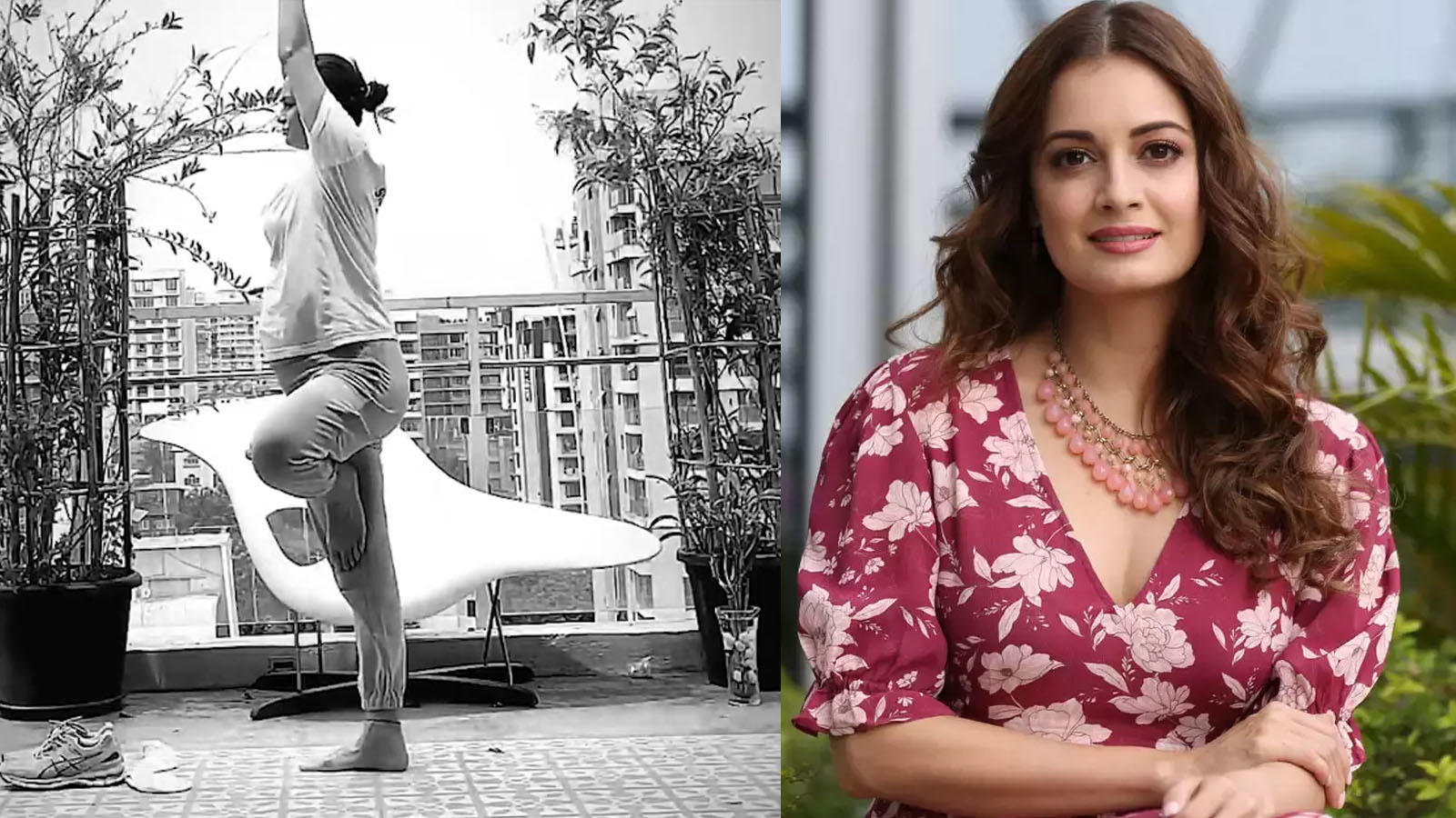Mom-to-be Dia Mirza turns her terrace into a gym amid partial lockdown in Mumbai, leaves fans impressed | Hindi Movie News – Bollywood – Times of India