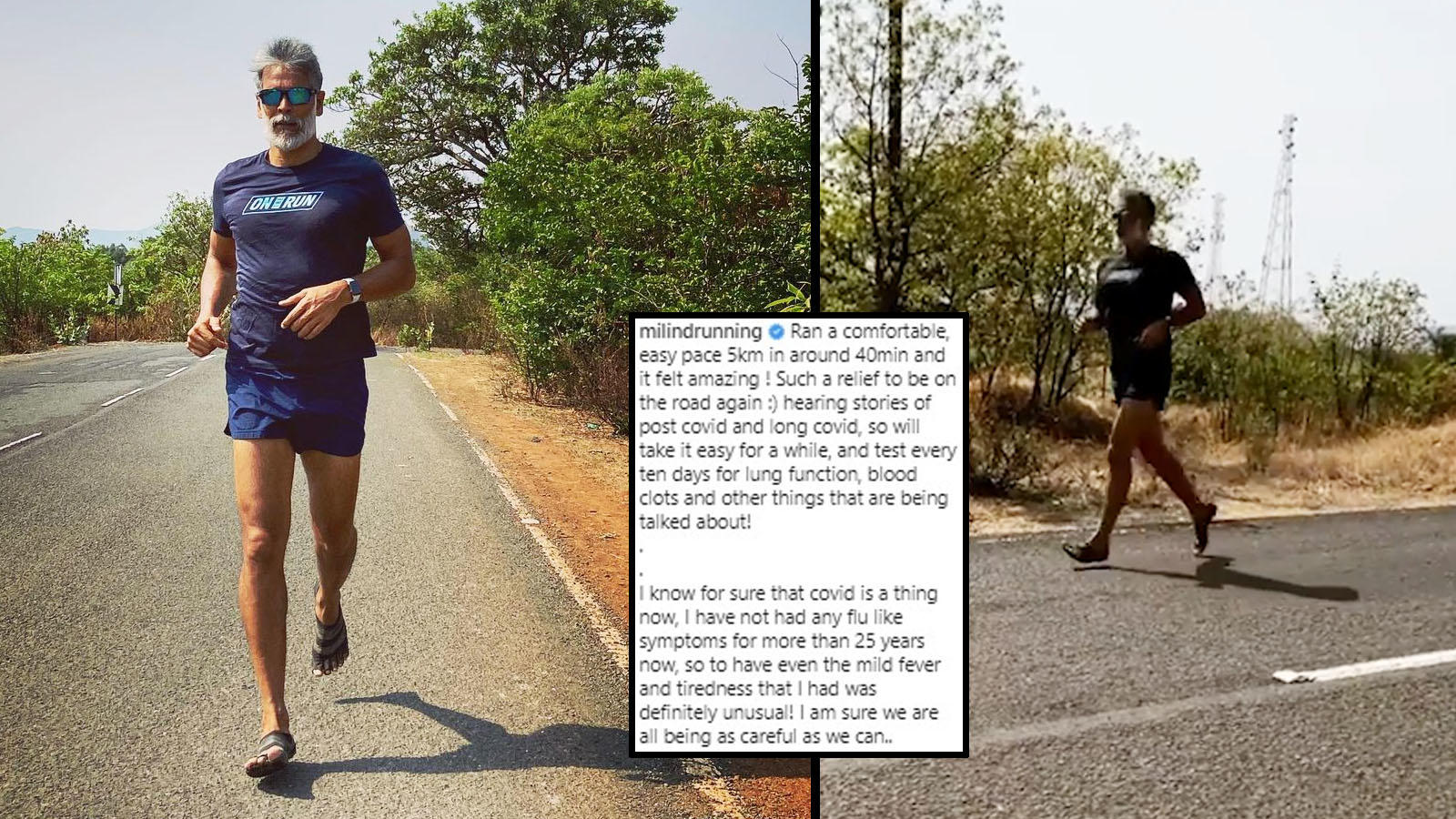 'Never had a flu like this…': Milind Soman goes for a 5km run after recovering from coronavirus | Hindi Movie News – Bollywood – Times of India