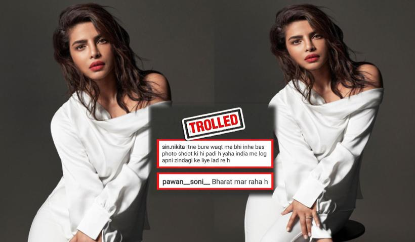 Priyanka Chopra trolled for her latest pictures amid COVID-19 crisis; here's why!   Hindi Movie News – Bollywood – Times of India