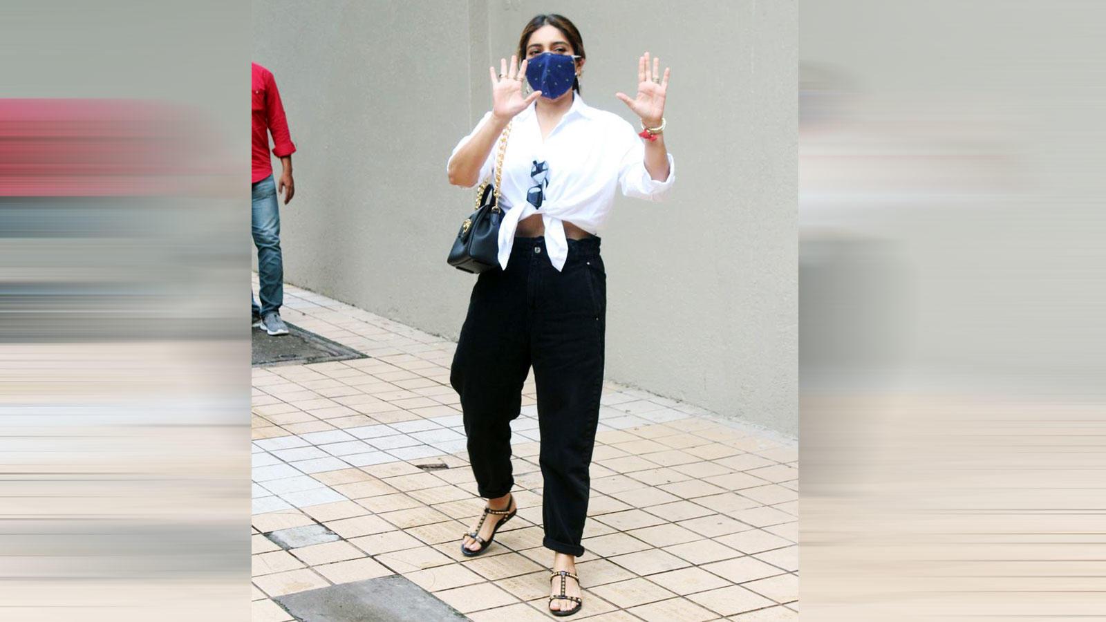 Bhumi Pednekar gets papped in Mumbai   Hindi Movie News – Bollywood – Times of India