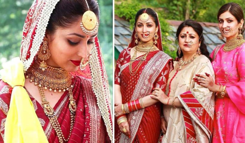 Did you know Yami Gautam wore her mother's 33-year-old sari as her wedding attire? More in the video | Hindi Movie News – Bollywood – Times of India