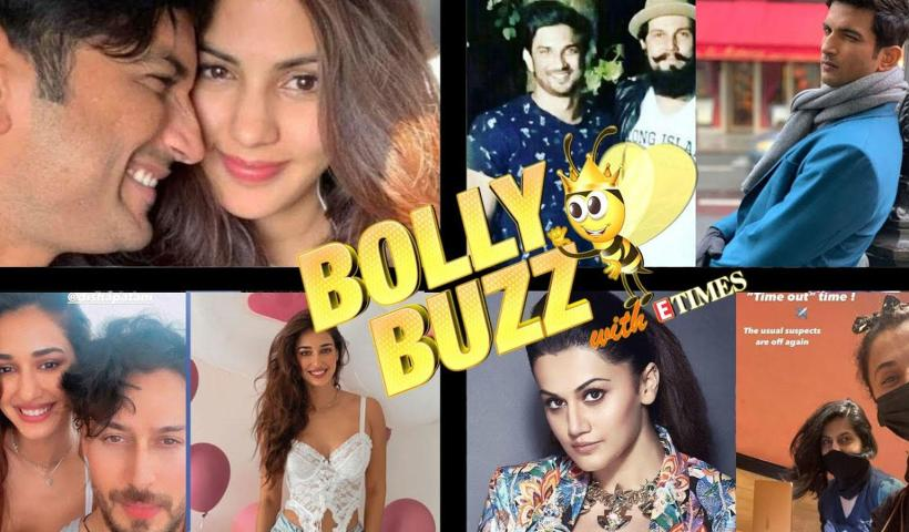 Bolly Buzz: Rhea Chakraborty gets emotional on Sushant Singh Rajput's death anniversary; Taapsee Pannu off to Russia | Hindi Movie News – Bollywood – Times of India