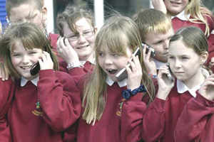 Limit children's phone use