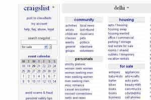 Craigslist India