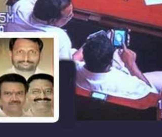 Karnataka Ministers Filmed Watching Porn In Assembly Quit